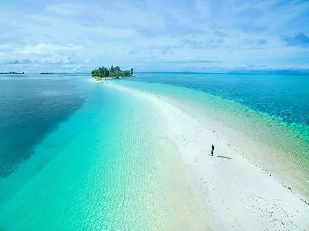 Panorama Cantik Pulau Morotai Maldives Ala Indonesia Proyek Jupiter